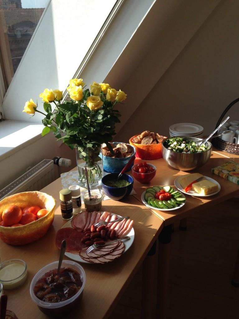 Samstagsbrunch - ein Blick auf ein anderes Buffet
